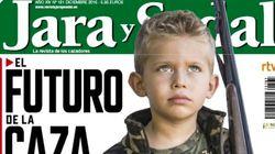 Críticas a 'Jara y sedal' por esta portada con un niño
