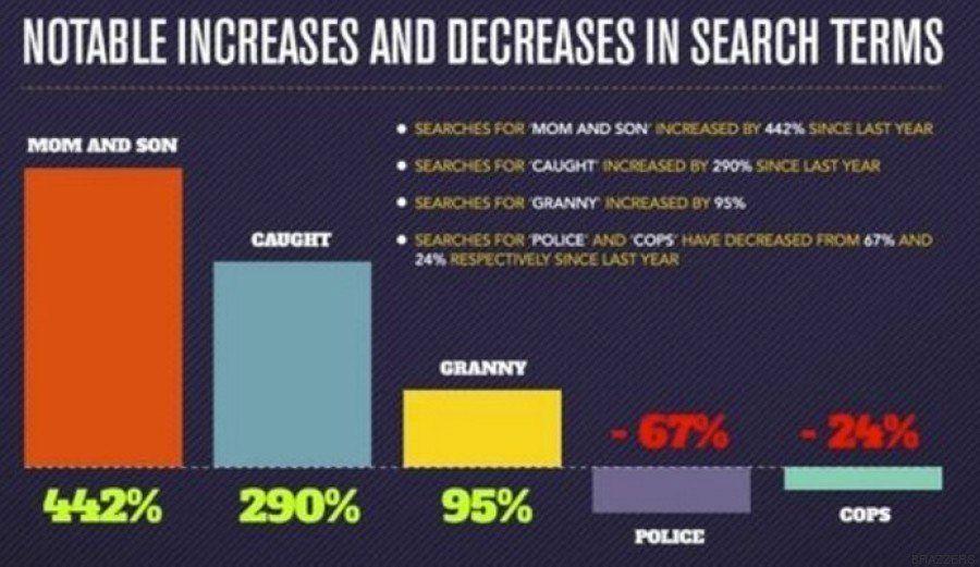 Las búsquedas porno más raras de 2016 en