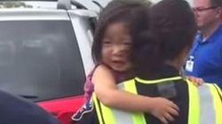 El rescate de una niña encerrada en un coche en plena ola de calor en EEUU