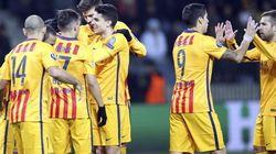 Barça y Valencia funcionan en la