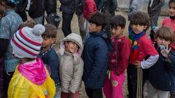 Casi 6.000 menores refugiados