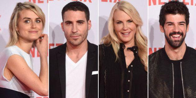 Fiesta Netflix: los actores de las series americanas visitan