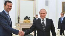 Putin se reúne con Al Assad en Moscú y le dice