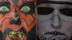 ¡Maquillate de los malos de 'Star Wars' y utiliza el poder del lado