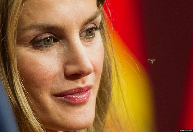 Prueba de agudeza visual: ¿qué le pasa a Letizia en los Premios Príncipe de Asturias 2012?