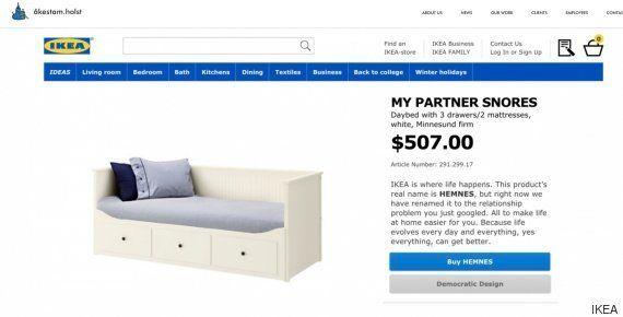 Ikea cambia los nombres suecos de sus productos por situaciones del día a
