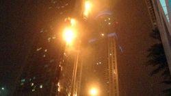 El espectacular incendio en un rascacielos de Dubái
