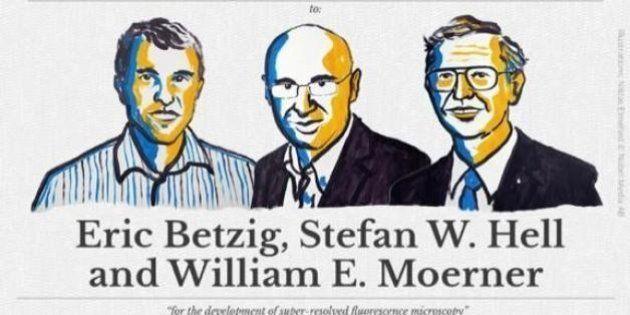 Nobel de Química 2014 para dos estadounidenses y un alemán por la microscopia