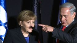 Merkel recuerda a Netanyahu que Hitler fue el responsable del