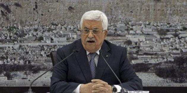Abás dice que Netanyahu acepta un Estado palestino en las fronteras de