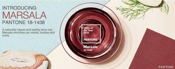 Marsala, el color Pantone