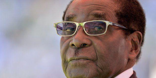 El banquete de Mugabe para celebrar su 91