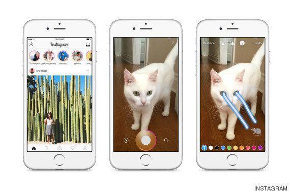 Instagram se acerca a Snapchat y crea 'Instagram