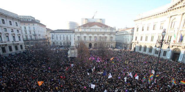 Italia se moviliza para reclamar el reconocimiento de uniones