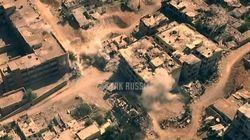 Un vídeo sobrecogedor muestra las imágenes de la guerra en