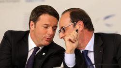 Llueven objetos en el Senado italiano mientras Renzi está de