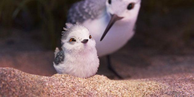 La estrella del corto de Pixar, 'Piper', es posiblemente su personaje más