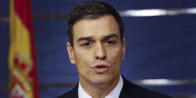 Sánchez espera que Rivera exija a Rajoy que se presente a la
