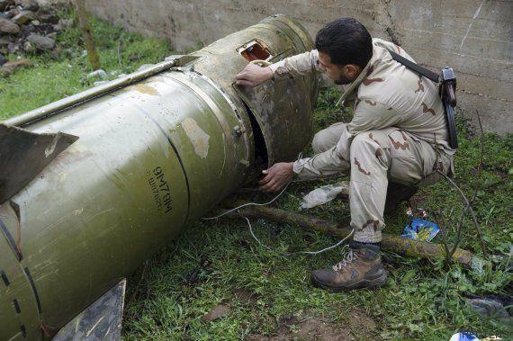 Los bombardeos arrecian en Siria a pocas horas del inicio de la