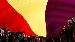 Polémica en Bilbao por el izado de la republicana en un mástil