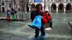 El 'agua alta' inunda Venecia