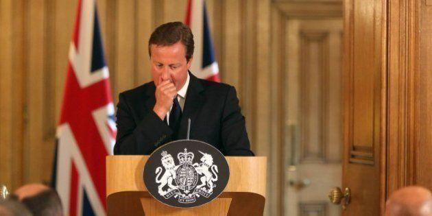 Cameron reconoce estar