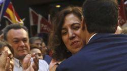 Pedro Sánchez recibe un 'toque'