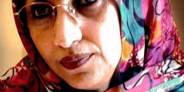 Aminatu Haidar asegura haber sido agredida por la policía de Marruecos en El