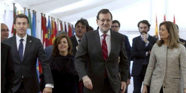 Rajoy dice que no adelantará las elecciones y que será candidato si el PP