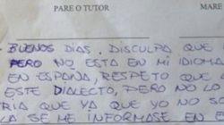 La dura carta de una madre a un profesor que le escribió en
