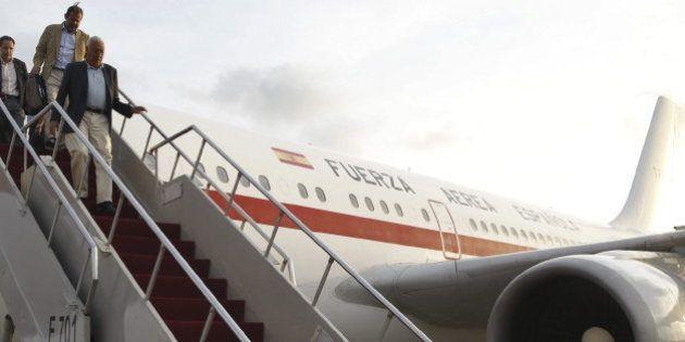 Otro avión oficial que se avería: ahora el que llevaba a Margallo a