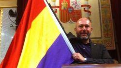 Una tricolor en el Congreso de los Diputados