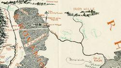 Estaba perdido y ahora vale 84.000 euros: el mapa de la Tierra Media anotado por J. R. R.