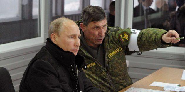 Putin ordena un repliegue de sus tropas desplegadas en suelo ruso, pero cerca de