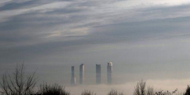 La niebla cubre España y deja estas espectaculares