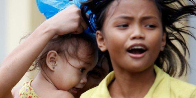 Tifón Hagupit en Filipinas: al menos 21 muertos y más de un millón de