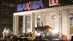 El derrumbe del techo de un centro comercial en Riga deja 18