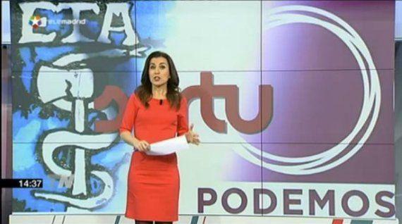 Telemadrid relaciona a Podemos con ETA y Sortu en sus