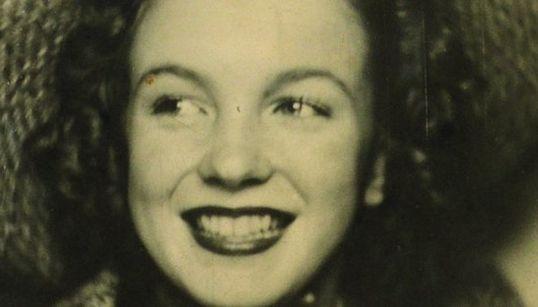Antes de ser Marilyn Monroe, Norma Jean se hizo este retrato