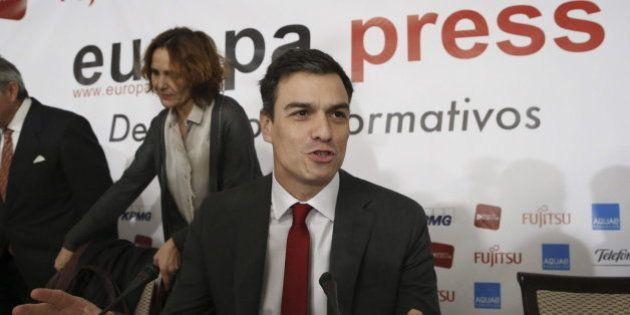 Pedro Sánchez acusa al Gobierno de