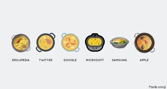 El 'paella emoji' ya es una