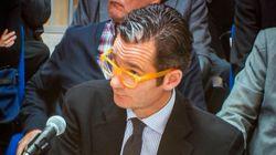 Las gafas amarillas de Urdangarin, objeto de guasa en