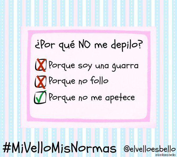 #MiVelloMisNormas: La campaña contra la imposición social de la