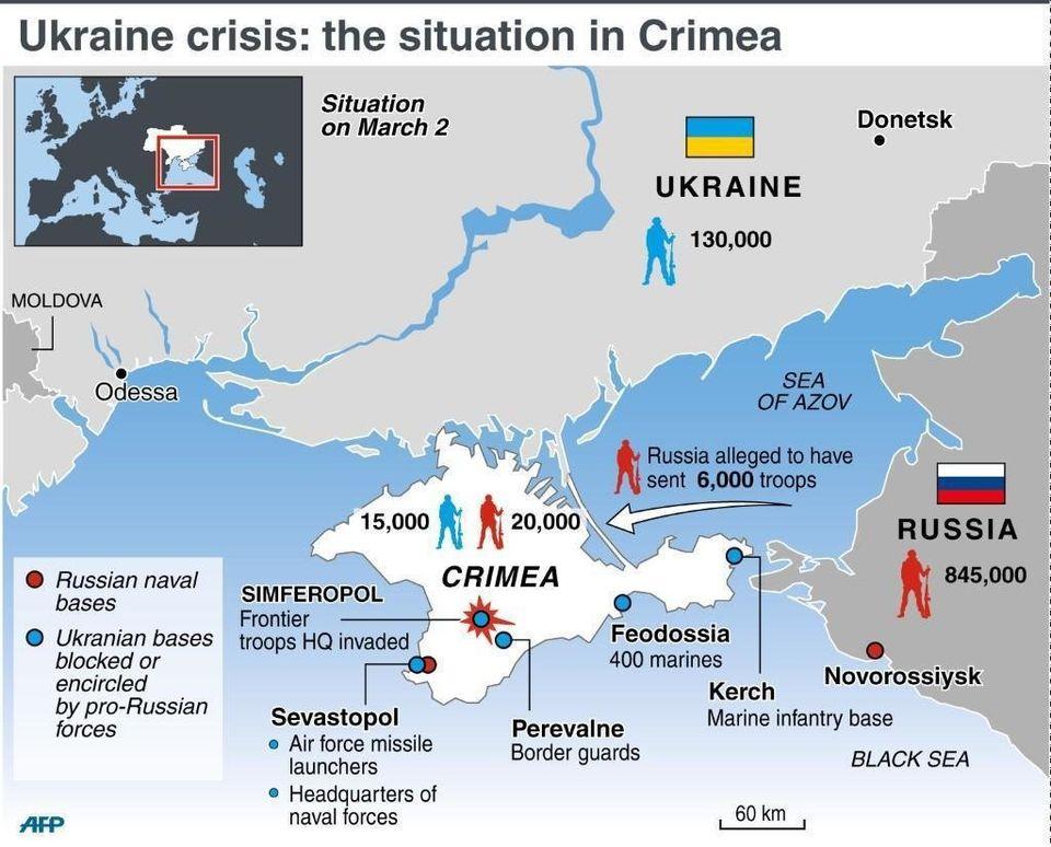 Crimea: la nueva guerra sin
