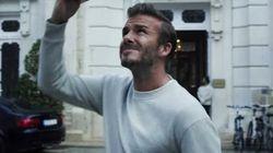Beckham ¿actor cómico? en el nuevo anuncio de su línea de
