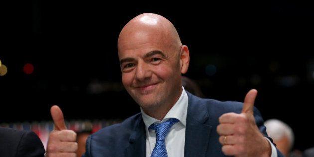 Gianni Infantino, elegido presidente de la
