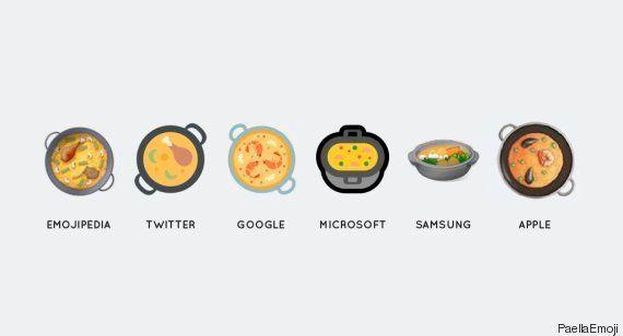 El emoji de la paella llega a los dispositivos Apple en