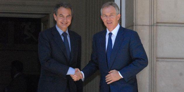 Tony Blair acompañará a Zapatero en la presentación de su