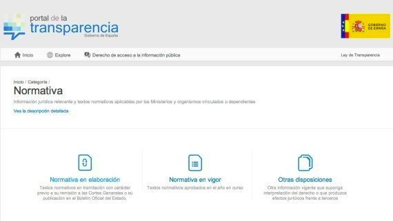 Portal de transparencia: qué información y qué datos