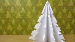 Cómo poner el árbol de Navidad, sin utilizar árbol de Navidad
